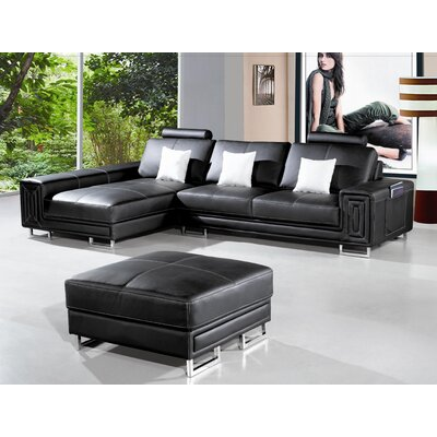 Martini Left Hand Facing Sectional by Hokku Designs