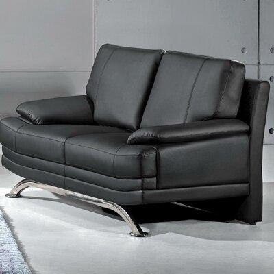 Phoenix Leather Loveseat by Hokku Designs