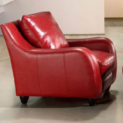 Napoli Leather Chair by Hokku Designs