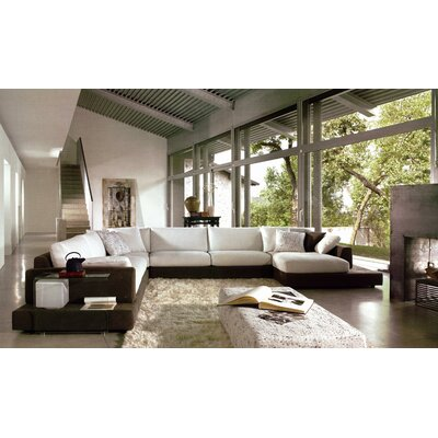 Baxton Left Hand Facing Sectional by Hokku Designs