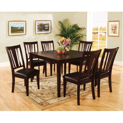 Hokku designs bridgette 7 piece dining set reviews wayfair for Hokku designs dining room furniture
