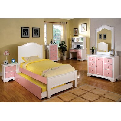 Hokku Designs Aila Twin Panel Bed