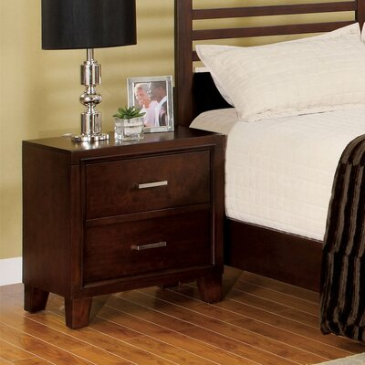 Bradford 2 Drawer Nightstand by Andover Mills