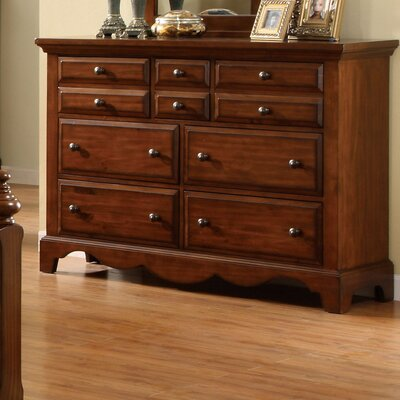 Sorrento 10 Drawer Dresser by Hokku Designs