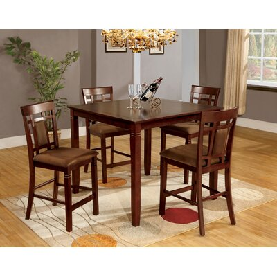 Wilton 5 Piece Counter Height Dining Set by Hokku Designs