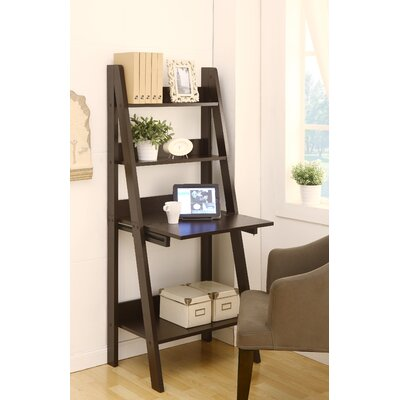 Hokku Designs Stanton Ladder Style Writing Desk with Shelves