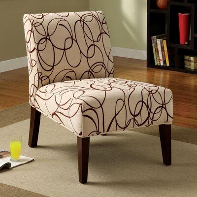 Dean Cotton Slipper Chair by Hokku Designs