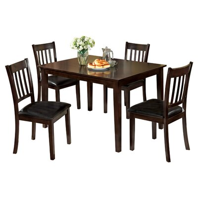 Hokku Designs Clarks 5 Piece Dining Set
