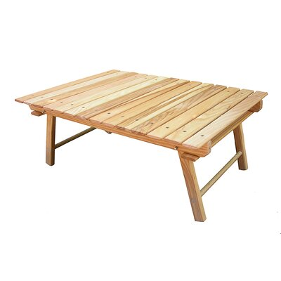 Blue Ridge Chair Works Carolina Packable Snack Picnic Table