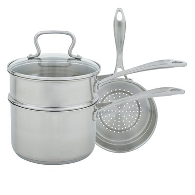 3-qt. 4 Piece Sauce Pan Set with Lid by Range Kleen