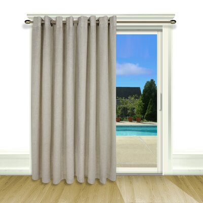 Ricardo Trading New Castle Lined Grommet Patio Panel with Wand Product Photo