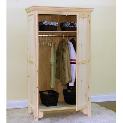Country Panel Door Armoire Product Photo