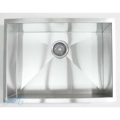 "26"" x 20"" Single Bowl Undermount Kitchen Sink Product Photo"