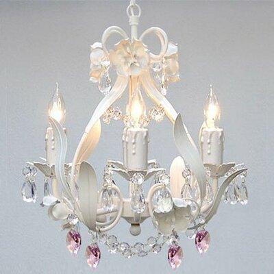 Garden 4 Light Crystal Chandelier Product Photo