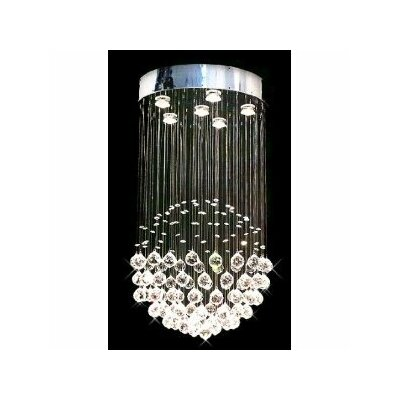 Rain Drop Crystal Chandelier Product Photo