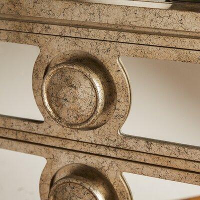 Stein World Carlton Mirrored 3 Drawer Cabinet
