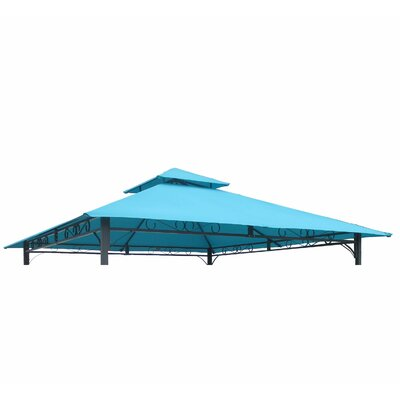 St. Kitts 10 Ft. W x 10 Ft. D Canopy by International Caravan