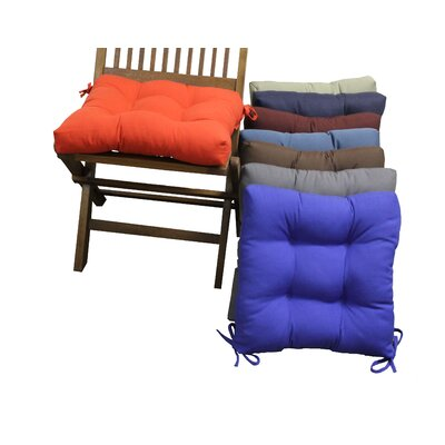 Blazing Needles Outdoor Dining Chair Cushion