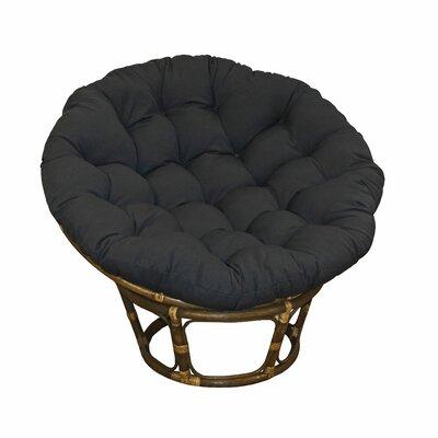Blazing Needles Solid Rocking Chair Cushion
