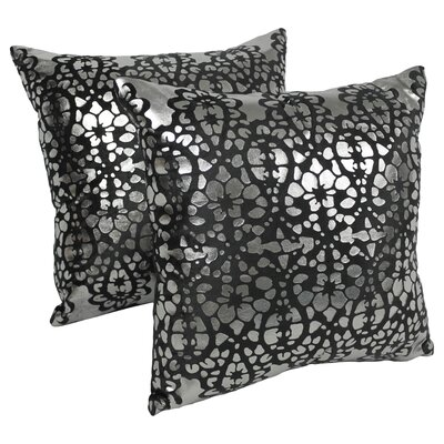 Paisley Scaled Throw Pillow by Blazing Needles