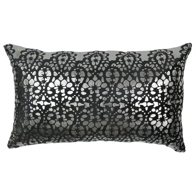 Paisley Scaled Cotton Throw Pillow by Blazing Needles