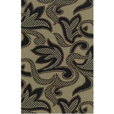 Blazing Needles Tapestry Checkered Scroll Futon Slipcover Set