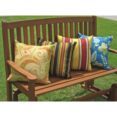 Blazing Needles All Weather Outdoor Throw Pillow