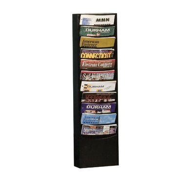 Prime Cold 11 Pocket Rolled Con-Tur Vertical Rack by Durham Manufacturing