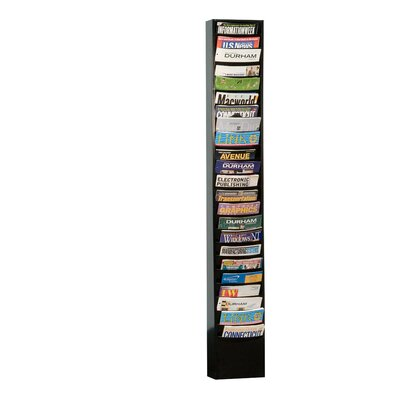 Prime Cold 23 Pocket Rolled Con-Tur Vertical Rack by Durham Manufacturing