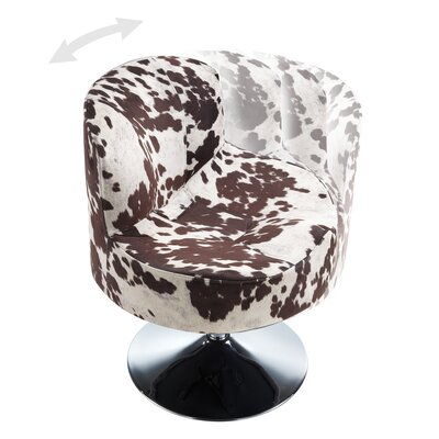 Barnabas Round Swivel Side Chair by Kingstown Home