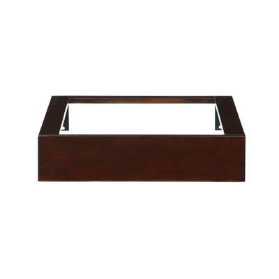 "Hembry Creek Blox 24"" Wall Console Vanity Base with Open Top"