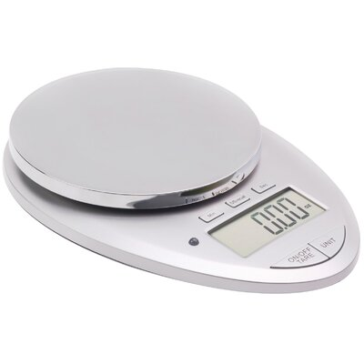 Pro II 12 lbs Digital Kitchen Scale with Kitchen Timer by Ozeri