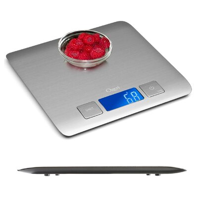 Zenith Ultra Refined Stainless-Steel Digital Kitchen Scale by Ozeri