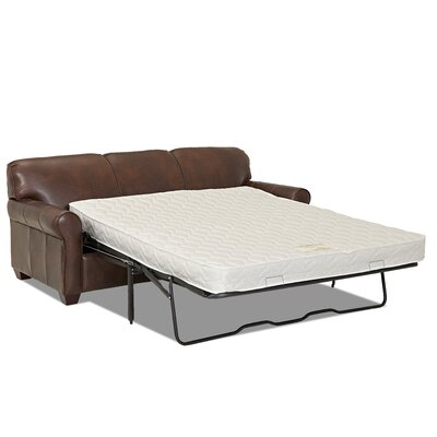 Jennifer Leather Sleeper Sofa by Wayfair Custom Upholstery