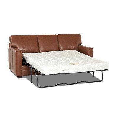 Carleton Leather Sleeper Sofa by Wayfair Custom Upholstery