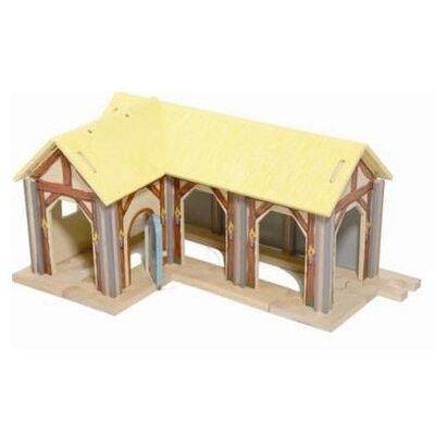 Le Toy Van Edix the Medieval Village Farm Building