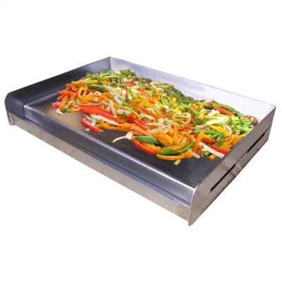 Sizzle-Q Universal Stainless Steel BBQ Griddle by Little Griddle Innovations
