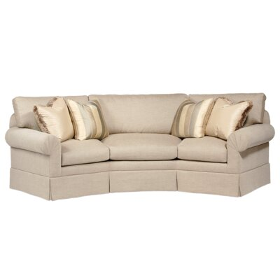Curved Back Conversation Sofa by Classic Comfort