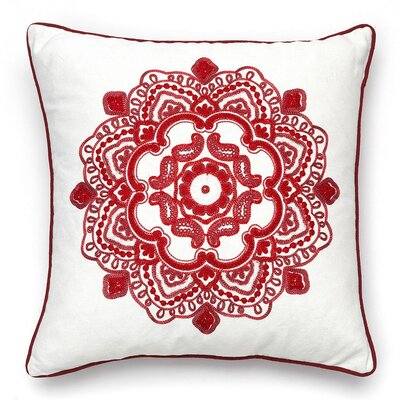Medallion Throw Pillow by Popular Bath Products