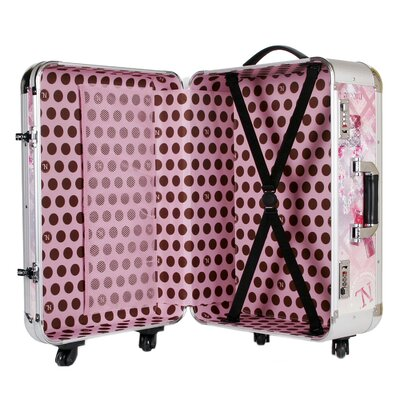 """Nicole Lee 21"""" Hardsided Spinner Carry-On Suitcase"""