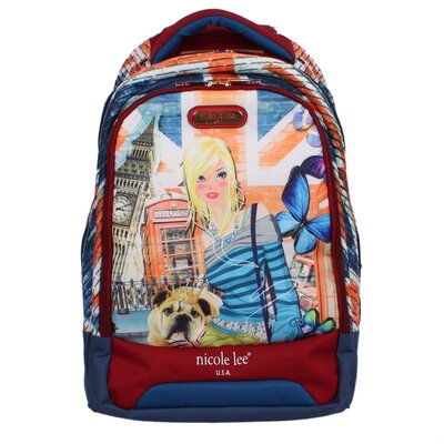 Leona Rolling Backpack by Nicole Lee