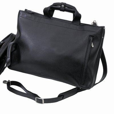 Express Softsided Leather Briefcase by Bellino