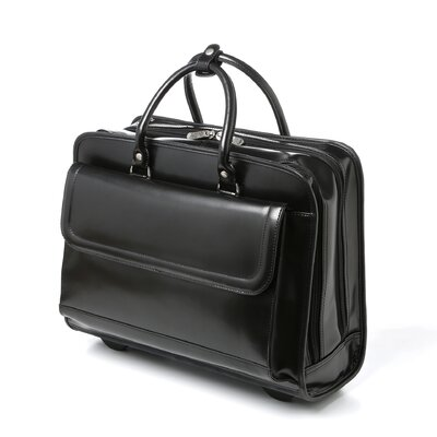 Leather Laptop Briefcase by Bellino