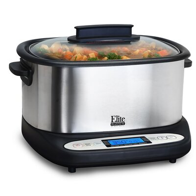 Platinum 6.5-Quart 7-in-1 Infinity Cooker by Elite by Maxi-Matic