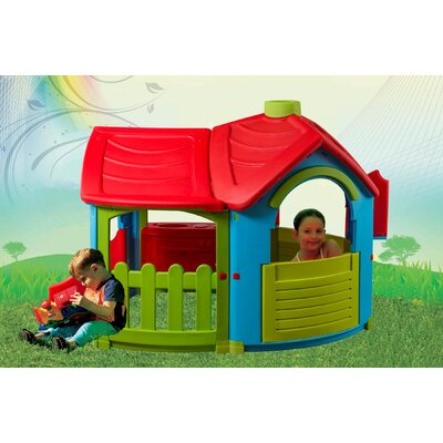 Villa Playhouse with Extension Product Photo
