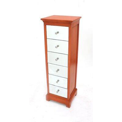 6 Drawer Wood Cabinet by Teton Home