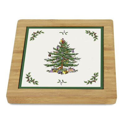 Square Bamboo Trivet by Pimpernel