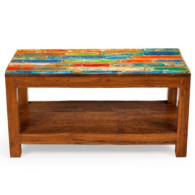 Windjammer Reclaimed Wood Coffee Table by EcoChic Lifestyles