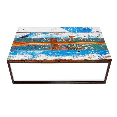 Beach Buoy's Reclaimed Wood Coffee Table by EcoChic Lifestyles