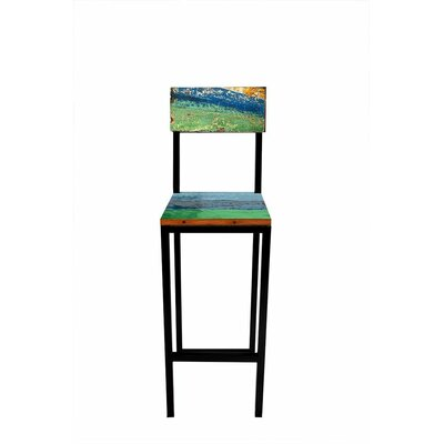 "Fin and Tonic 30"" Bar Stool by EcoChic Lifestyles"